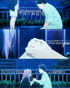 Koe no katachi Anime quotes Jokes Quotes, Sad Quotes, Happy Quotes, A Silent Voice, The Voice, Koe No Katachi Anime, The Art Of Listening, Animes To Watch, Anime Qoutes