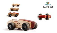 Деревянная игрушка гоночная машинка. Авторский дизайн, ручная работа. Только на сайте Ecotoysbrands.ru