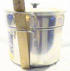 Vintage Mirro Aluminum 6 Quart Shrimp / Paster Cooker / Steamer / Blancher #Mirro
