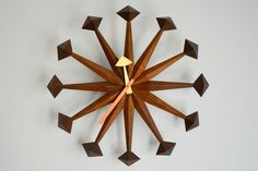 Vintage Polygon Clock  #DWRdining #goodhousekeeping #createyourcomfy