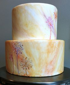 Watercolor Cake by The Frosted Cake Shop, via Flickr