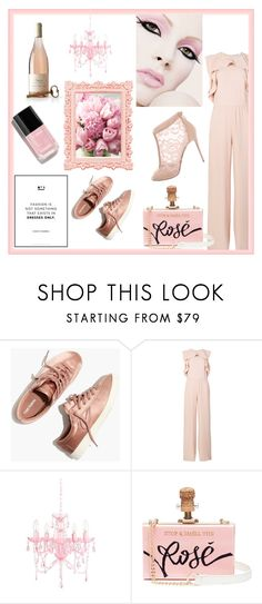 """""""Light Pink Perfection"""" by styleacademybyfashiondna ❤ liked on Polyvore featuring Madewell, RED Valentino, Cecilia Ma, Dolce&Gabbana, Hostess, Chanel and contestentry"""