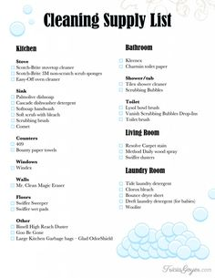 cleaning supplies on Pinterest | Cleaning, Cleaning ...