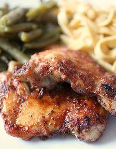 Honey-Spiced Glazed Chicken. I have made this recipe for many years, soooo yummy.
