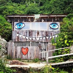 This is not Photoshop. This is a real house in Matadero Beach, Florianópolis, SC,  Brazil.