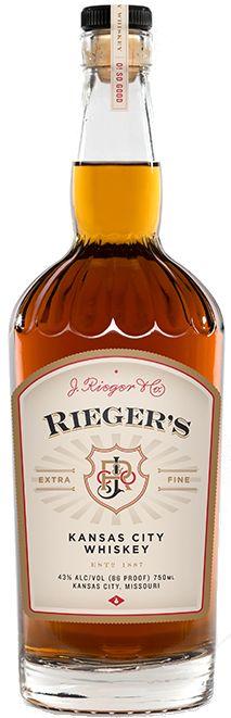 J. Rieger & Co. Kansas City Whiskey