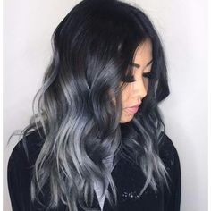 12 Gorgeous Gray/Silver Ombre Hairstyles   Hairstyle Guru