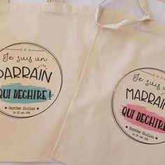 tote bag parrain marraine