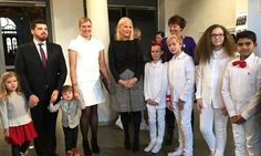 Princess Mette-Marit attended Redd Barna's 2017 Peace Prize party