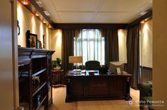 Домашний кабинет английский стиль