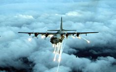 AC-130 Spector Gunship, vietnam war video | Spector Gunship.  #VietnamWarMemories