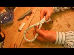 How to Splice and Braid a Loop into the End of a Rope for Dummies - For making a nautical dog leash