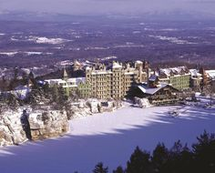 Mohonk Mountain House, right nearby in the Shawangunk Mountains, NY