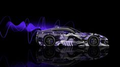 Chevrolet Corvette Stingray C7 Side Anime Boy Aerography