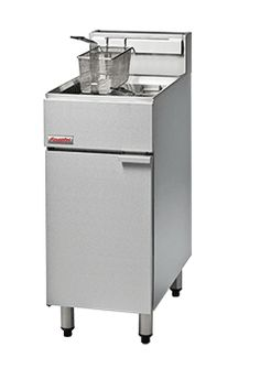 FastFri FF18 - 400mm Gas Deep Fryer - Single Pan | Channon