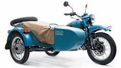 An Eastern European motorcycle manufacturer has collaborated with a wool company from the Pacific Northwest to produce a sidecar bike with a name and accessories that celebrate the nomadic lives o