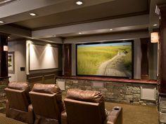 Rustic Retreat >> http://www.hgtvremodels.com/interiors/cedia-2013-home-theater-finalist-rustic-retreat/pictures/index.html?soc=cediaparty