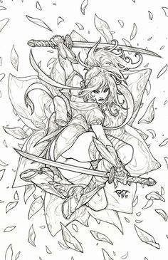 Daffodil aspen samurai ninja assassins Cover by pant.deviantart.com on @deviantART
