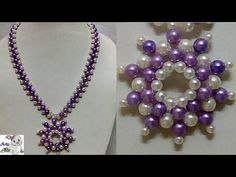 #98 How to Make Pearl  Beaded Necklace || Diy || Jewellery Making - YouTube