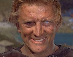 """Kirk Douglas in """"The Vikings""""."""
