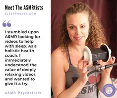 ASMR Psychetruth created an exclusive track for the first headphones for ASMR. Relaxation Techniques For Anxiety, Sleep Headphones, Holistic Health Coach, Stretchy Headbands, Guided Meditation, Asmr, Positive Affirmations, Track