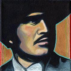 Vicente Fernandez Chente Mexican Pop Art by minervatorresguzman, $10.00