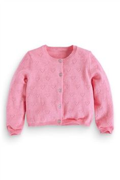 Buy Pointelle Cardigan online today at Next: Belgium Latest Fashion For Women, Kids Fashion, Next Uk, Uk Online, Vogue, Children, Sweaters, Stuff To Buy, Pullover