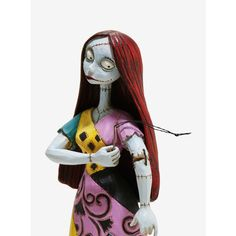 The Nightmare Before Christmas Sally Figurine ($32) ❤ liked on Polyvore featuring home, home decor, holiday decorations, nightmare before christmas, christmas figurines, christmas holiday decorations, resin figurines, christmas figure and christmas home decor