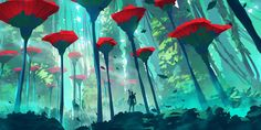 Dive into The Art of Anton Fadeev, a Russian Environment Concept Artist based in Sochi.