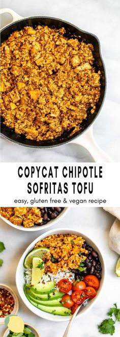 Easy Healthy Dinners, Vegan Dinners, Easy Healthy Recipes, Quick Easy Meals, Vegan Entree Recipes, Beef Recipes, Health Recipes, Easy Vegan Dinner, Healthy Dinner Recipes