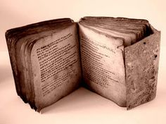 a grimoire: cool french word for spell book