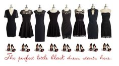 """Little Black Dresses"" by modcloth ❤ liked on Polyvore featuring BB Dakota"