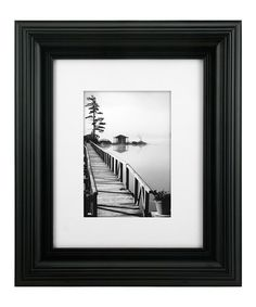 Loving this Black Matted Simple Frame on #zulily! #zulilyfinds