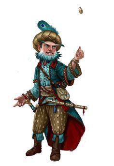 """Quifo, gnomo sacerdote de templo Heronious """"Pequeño Valor"""" de pueblo Gilid"""