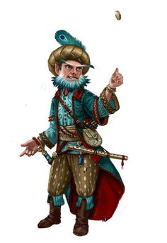 Prater Santo - A cleric in Falstaff who created Youth Potions for the King's mother