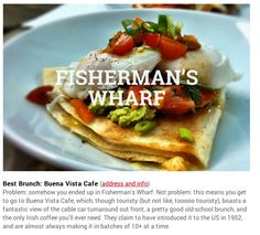 Fisherman's Wharf brunch Spot  Buena Vista Cafe