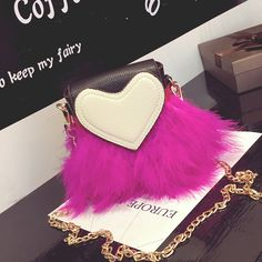 Find More Shoulder Bags Information about 2016 new sexy female shoulder bag, heart shaped feather decoration, chain handbag Fluffy little hearts female bag,High Quality bag gu,China heart clutch bag Suppliers, Cheap heart iphone from GengNan store on Aliexpress.com