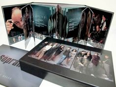 Sopranos complete boxed set. Easily the greatest television series ever produced. Getting this for my dad for Fathers Day!