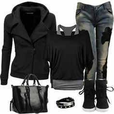 I Love Black! This is so me!