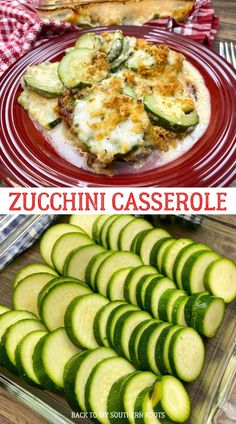 Zucchini casserole is a delicious side dish that is filled with cheesy flavors, a Panko breadcrumb topping, and plenty of tasty zucchini. Ham And Potato Casserole, Dinner Casserole Recipes, Zucchini Casserole, Vegetable Casserole, Casserole Dishes, Homemade Au Gratin Potatoes, Most Delicious Recipe, Healthy Recipes, Easy Recipes