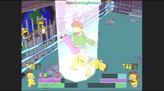 Ned Flanders VS Professor Frink The Scientist In A The Simpsons Wrestling Match This video showcases Gameplay of Ned Flanders VS Professor Frink The Scientist In A The Simpsons Wrestling Match