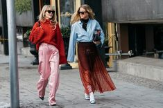 Our street chic photographer captures the most stylish attendees and the street style trends to watch as fashion week returns to the Swedish capital.