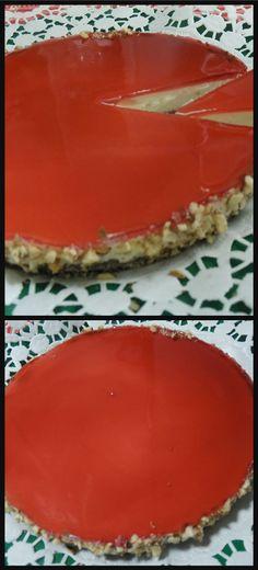 Cheesecake alla melagrana, è il periodo giusto per provare questo delizioso dolce ! #cheesecake #dolci #cucchiaio #ricettegustose #ricette #gustose #recipe #receta #food #cackes #tortas