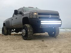 Diggin the LED light bars in the bumper.