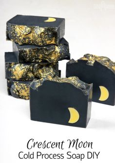 The Crescent Moon Cold Process Soap is perfect for...   Soap Queen #soap#