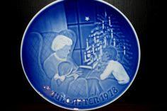 Bing and Grondahl CHRISTMAS Collector Plate 1978