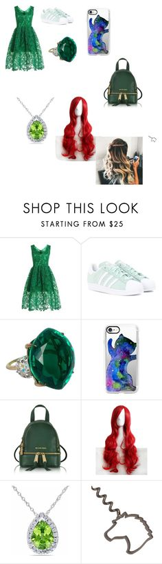 """""""My New Year Look"""" by jadecosmic ❤ liked on Polyvore featuring WithChic, adidas Originals, Casetify, Michael Kors and Allurez"""