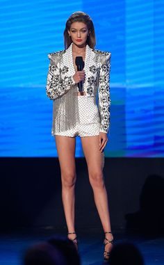Her wardrobe really knocked it out of the park