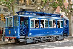 Tramvia Blau - Tranvía antiguo de Barcelona | Transports Metropolitans de Barcelona