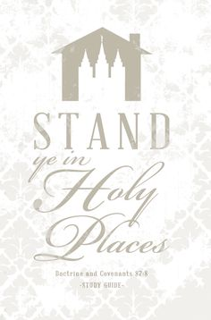 """""""Stand Ye In Holy Places"""" Theme Quotes Here are some great quotes to go along with the Young Men and Young Women 2013 Mutual Theme: Book Of Mormon Scriptures, Bible, Scripture Mastery, Morning Scripture, Red Headed Hostess, Get To Know You Activities, Place Quotes, Go For It Quotes, Father Quotes"""